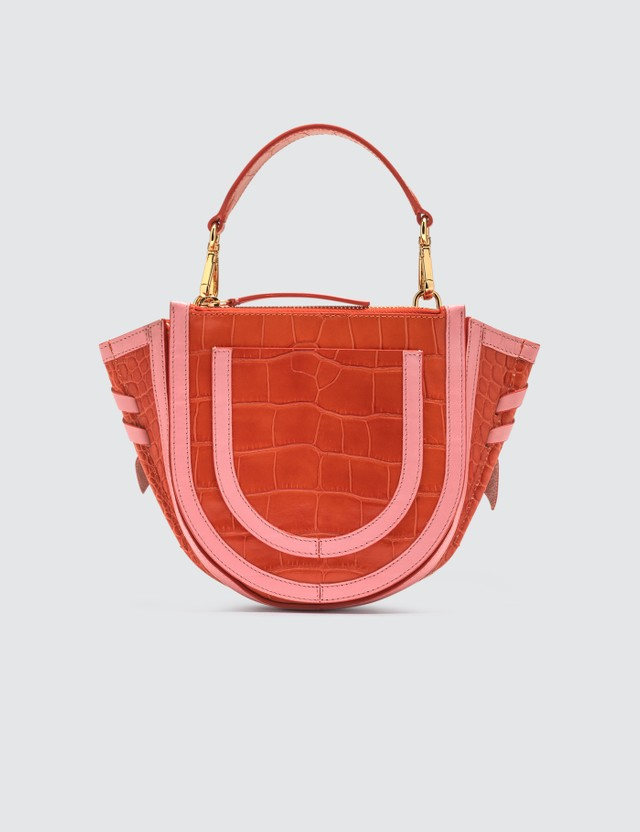 Wandler Hortensia Mini Bag Croco Calf Leather