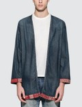 SOPHNET. Denim Long Shirt Cardigan Picture