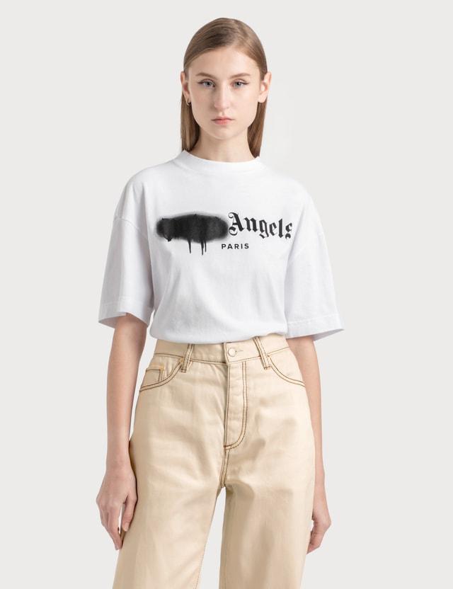 Palm Angels Paris Sprayed Logo T-shirt