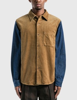 Stussy Corduroy Denim Mix Shirt
