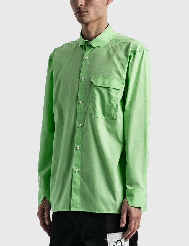 Ader Error Pind Shirt Green Men