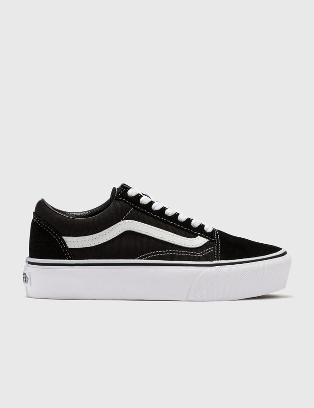 Vans Old Skool Platform Black/white Women