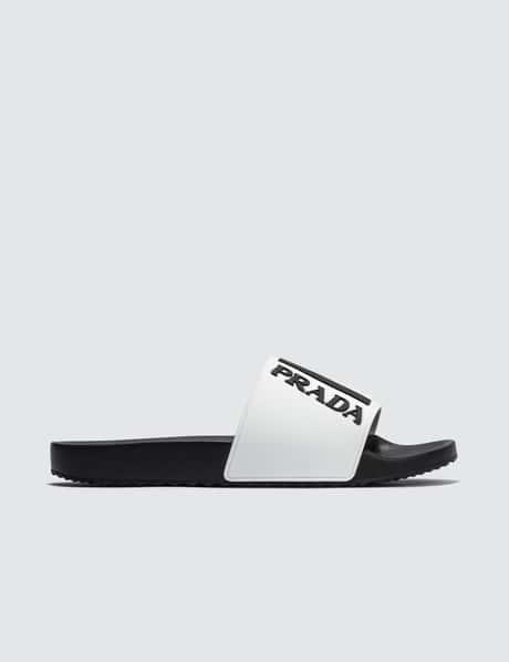 프라다 Prada Logo Sandal