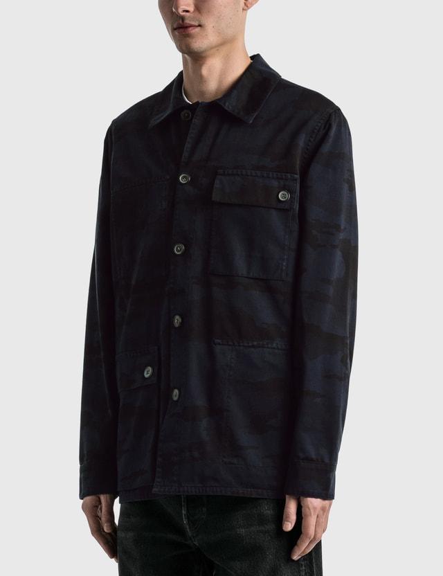 Acne Studios Reversible Chore Jacket Mid Blue Men