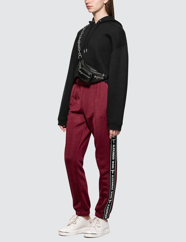 Alexander Wang.T Dence Fleece Hoodie Sweatshirt