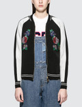 GCDS Short Flower Bomber Jacket Picture