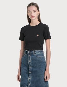 Maison Kitsune Profile Fox Patch T-Shirt