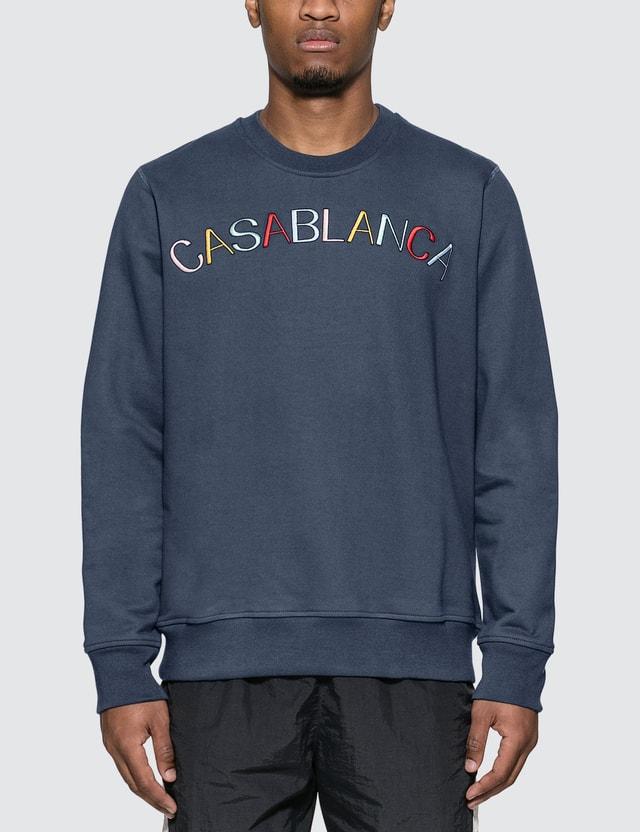 Casablanca Casa Arch Logo Sweatshirt