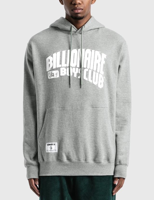Billionaire Boys Club Dash Arch Logo Hoodie Grey Men