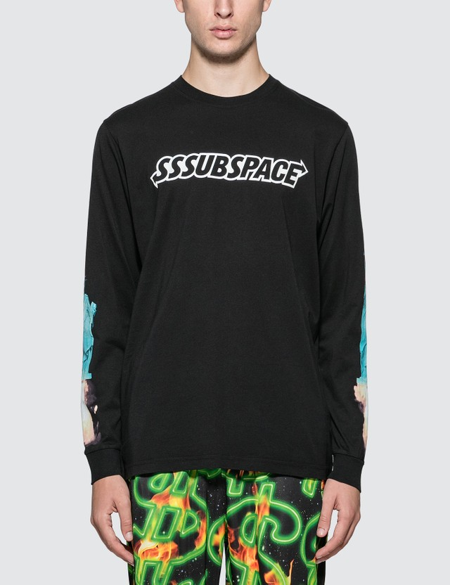 SSS World Corp SSSubspace Go Home Long Sleeve T-Shirt Black Men