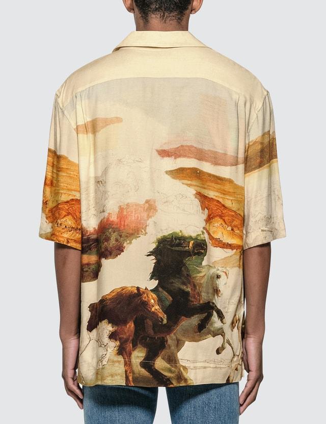 Acne Studios Horse Print Shirt