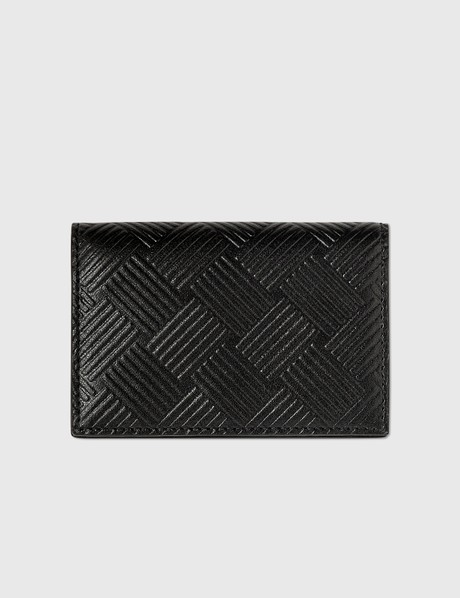 보테가 베네타 Bottega Veneta Intrecciato Textured Leather Coin Case