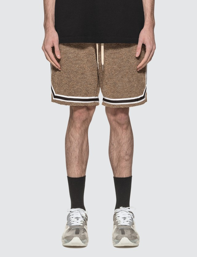 John Elliott Bouclé Game Shorts
