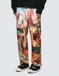Palm Angels Canyon Pants Light Blue Multicol Men