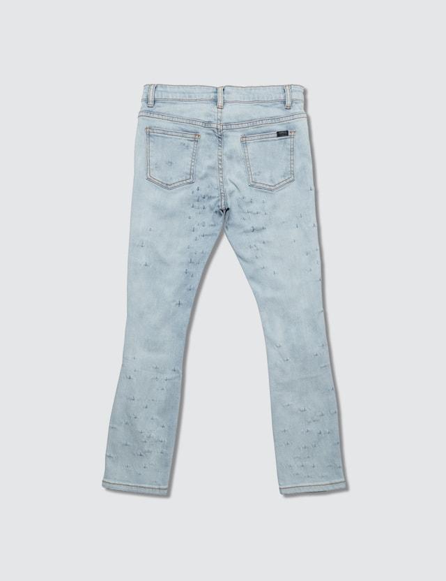 Haus of JR Slim Shotgun Jeans Lt Indigo Rinse Wash Kids