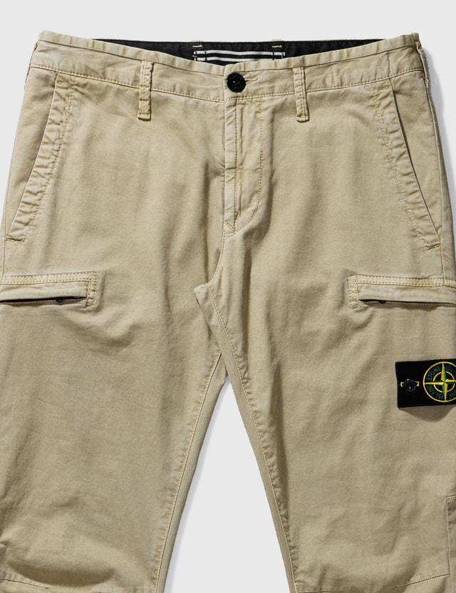 Stone Island Cargo Pants Sand Men
