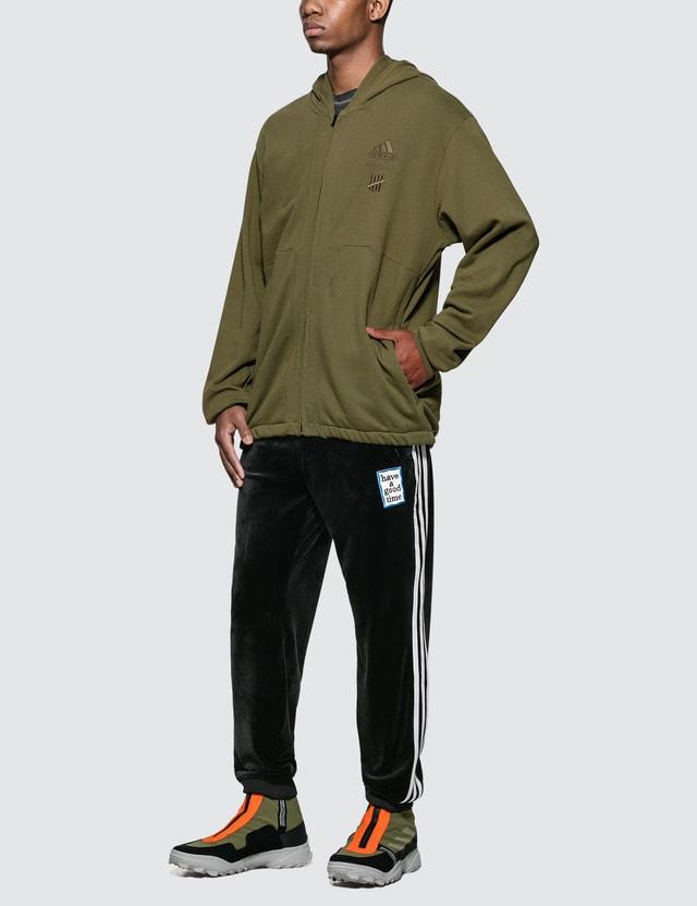 Adidas Originals UNDEFEATED x Adidas Full Zip Hoodie