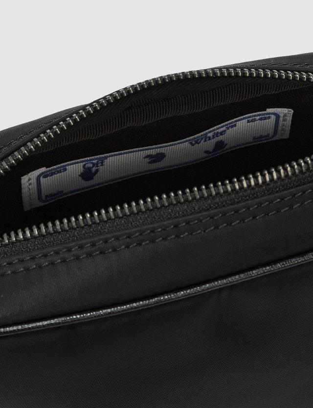 Off-White Logo Nylon Crossbody Bag