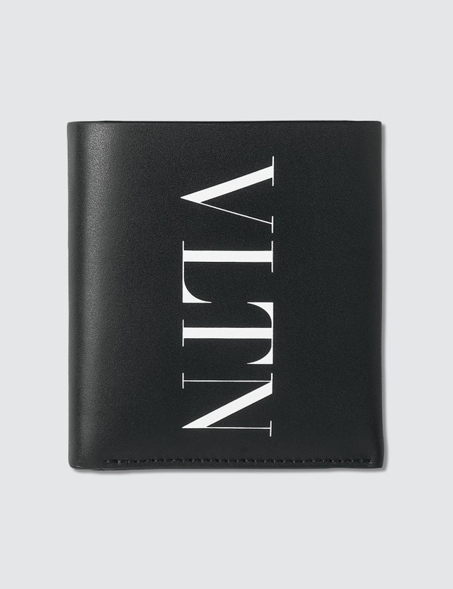 Valentino Valentino Garavani VLTN Bifold Wallet