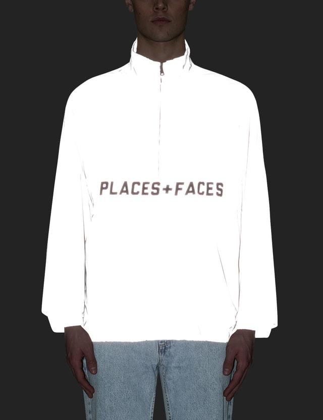 Places + Faces Reflective Zip Up