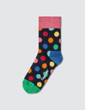 Happy Socks Kids Big Dot Sock Picture