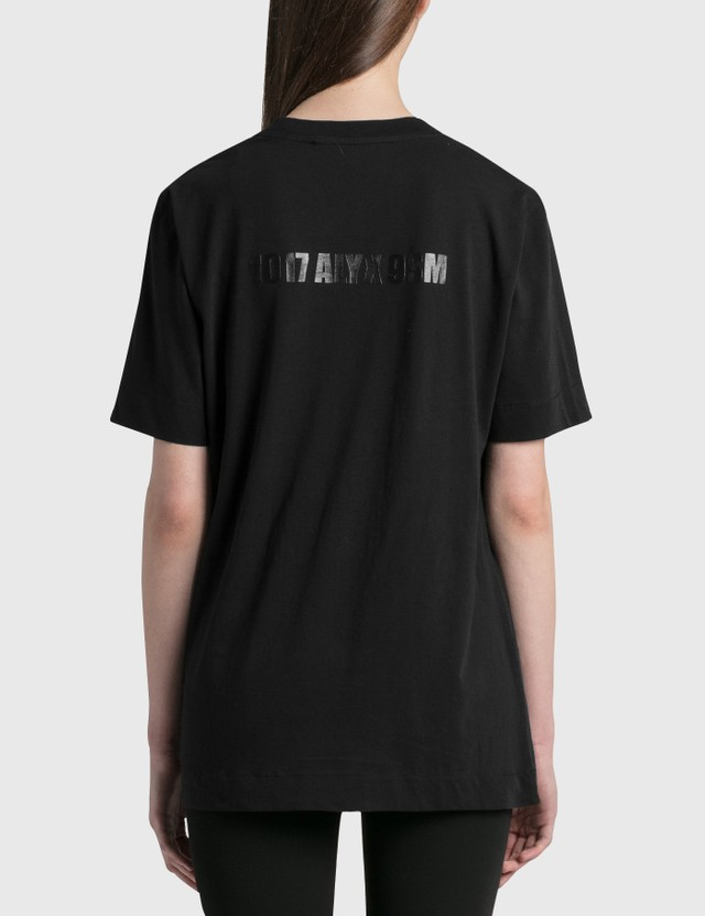 1017 ALYX 9SM Mirrored Logo T-Shirt Black Women