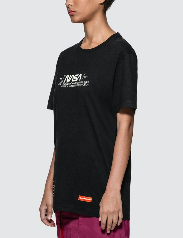 Heron Preston NASA T-shirt Black Women