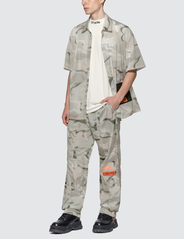 Heron Preston Pocket Shirt =e56 Men