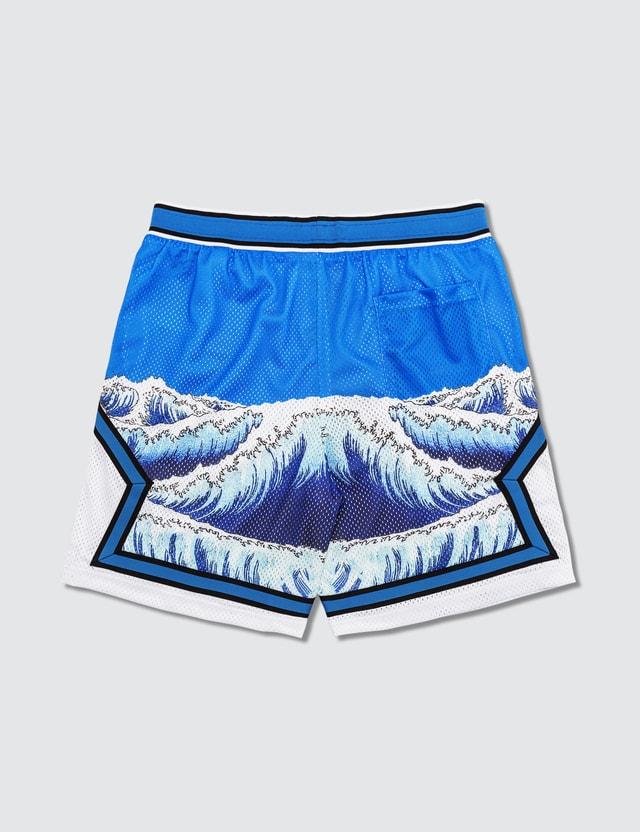 RIPNDIP Great Wave Mesh Basketball Shorts