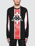 Marcelo Burlon Kappa Stripe L/S T-Shirt Picture
