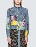 Loewe Paula Patchwork Denim Jacket Picutre