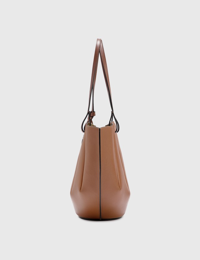 Loewe Small Shell Tote Bag Tan Women