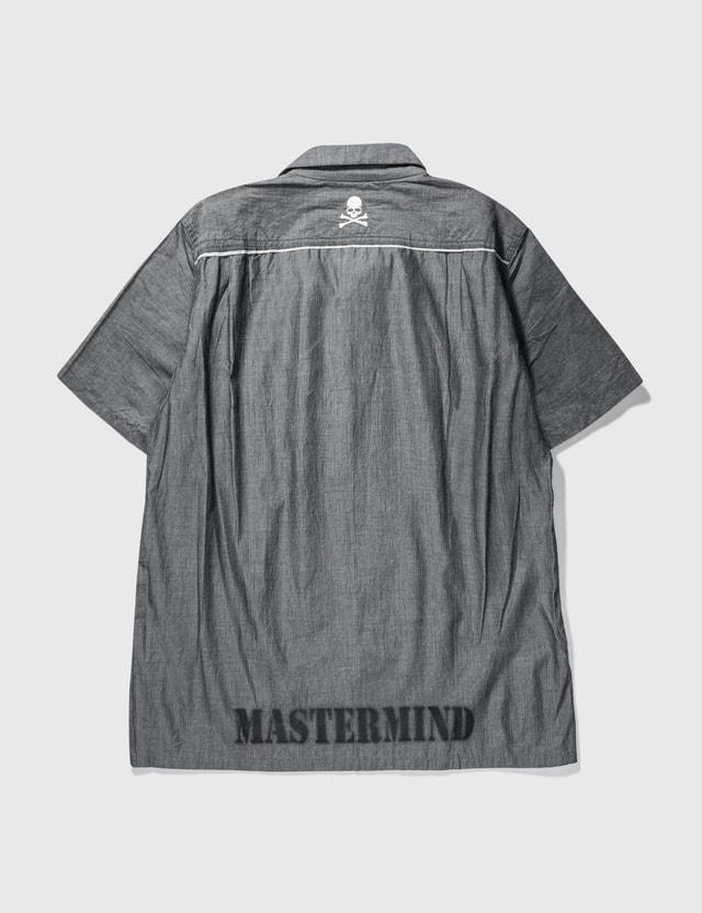 Mastermind Japan Mastermind Japan Timeless Short Sleeve Shirt Grey Archives