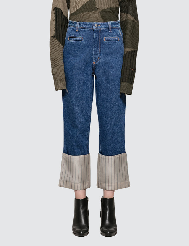Loewe Stripe Fisherman Jeans