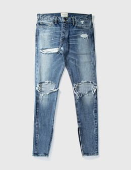 Fear of God Fear Of God Washed Crushed Jeans