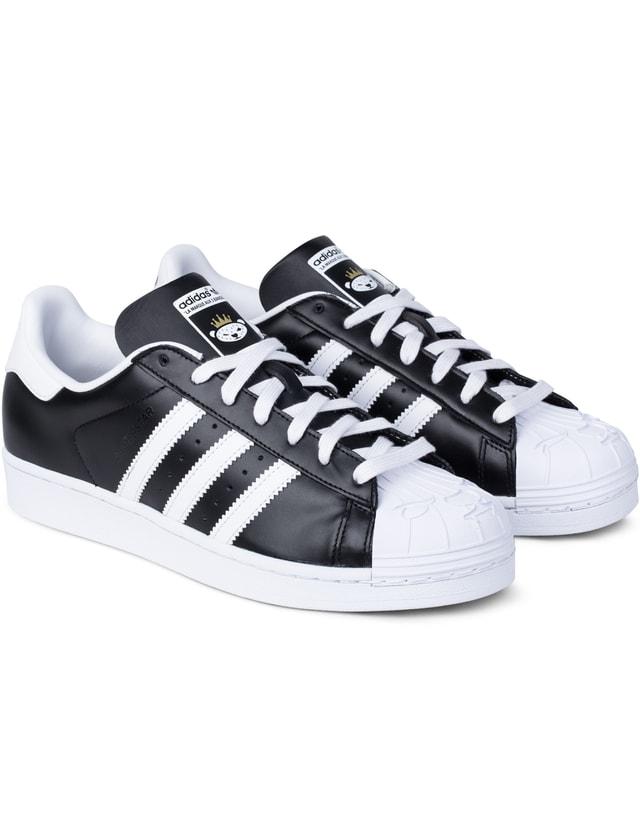 Adidas Originals adidas Originals x NIGO Black/white Superstar Nigo Bearfoot