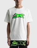 Icecream Icecream × Psychworld Running Dog T-shirt White Men