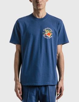 Casablanca Casablanca Tennis Club Island Double Print T-shirt