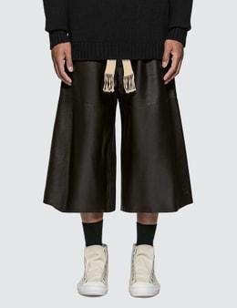 Loewe Mid Length Nappa Shorts