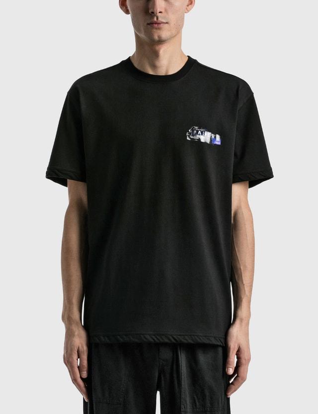 Ader Error Fail Tape Logo T-shirt Black Men