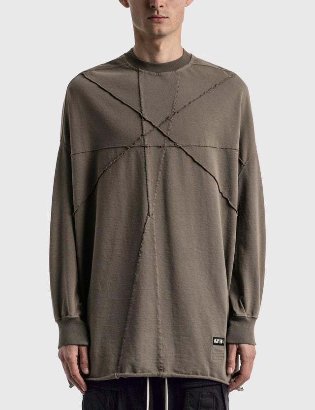 Rick Owens Drkshdw Crater Tunic Sweater Dust Men