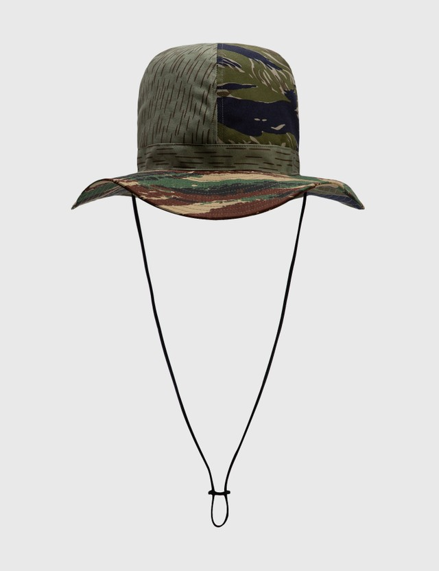 South2 West8 Crusher Hat Crazy Camo Men