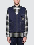 Stussy Poly Cotton Work Vest Picture