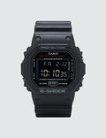 """G-Shock DW5600HR """"Black & Red Series"""" Picture"""