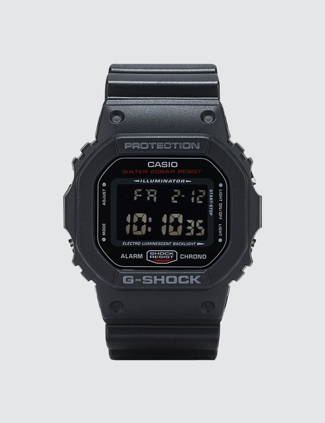 "G-Shock DW5600HR ""Black & Red Series"""