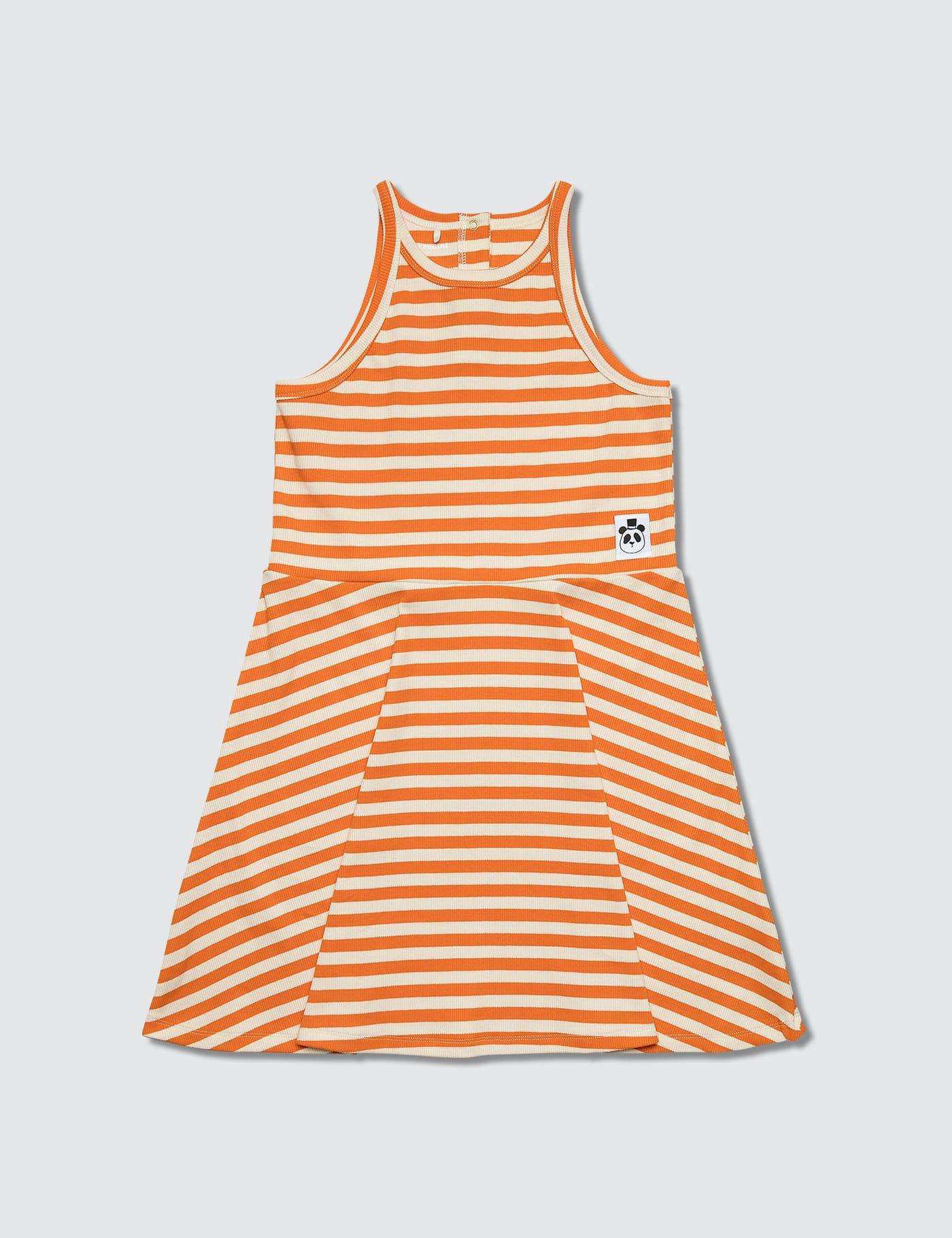 Stripe Rib Tank Dress