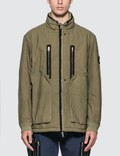 Stone Island Shadow Project Frag Collar Field Jacket With Stowable Split Hood Picture