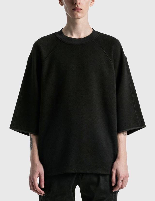 Stone Island Shadow Project Crewneck T-shirt Black Men