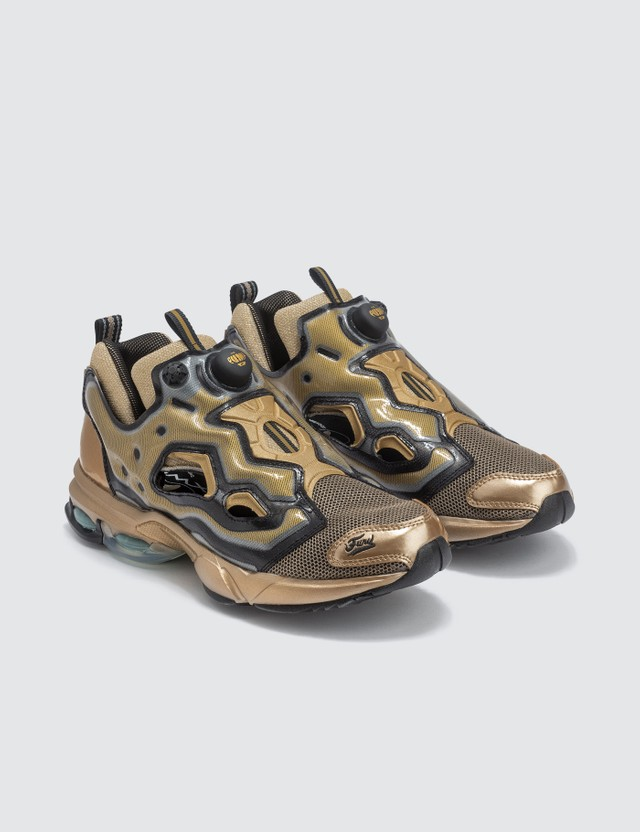 Reebok Fury Millennium TXT Sneaker Sleek Met/black Men