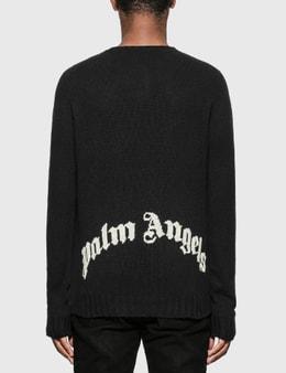 Palm Angels Back Logo Sweater